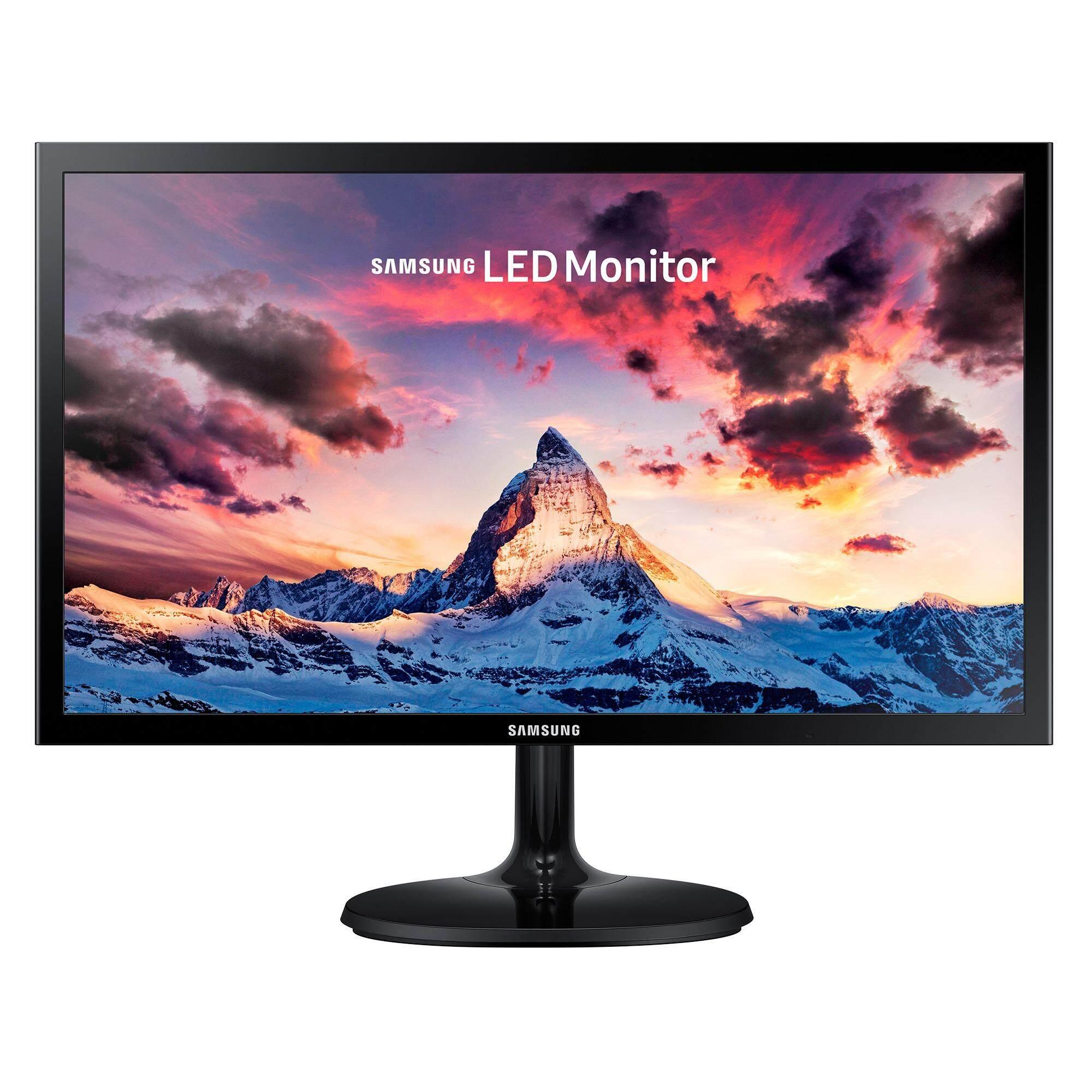 ราคา Samsung 24 Fhd Monitor Sf350 จอบางเฉียบ ดีไซน์เรียบหรู เป็นต้นฉบับ Samsung