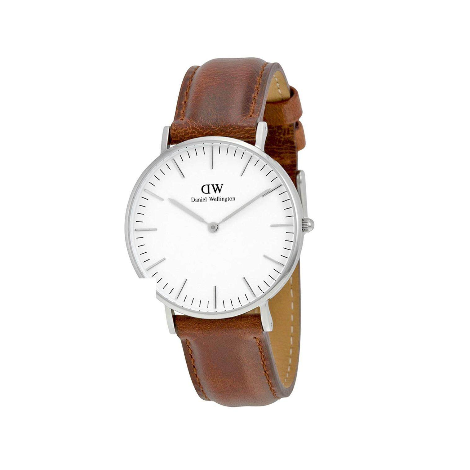 Daniel Wellington 0607Dw Classic St Mawes 36Mm นาฬิกาข้อมือ แฟชั่น ผู้หญิง สายหนัง สีน้ำตาล Women Watch Brown ใน สมุทรปราการ
