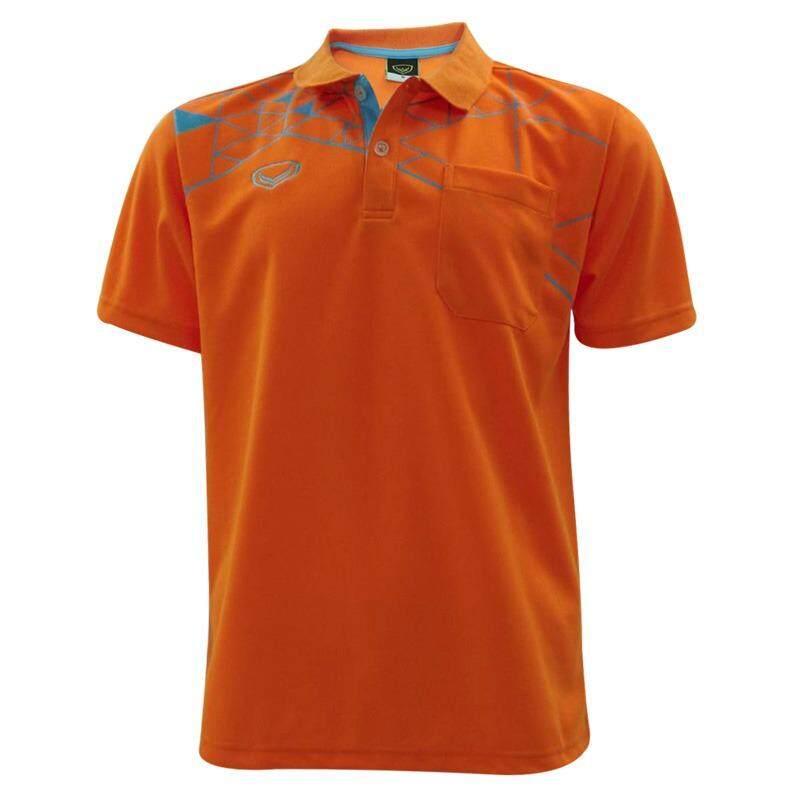 ราคา เสื้อโปโลชายแกรนด์สปอร์ต สีส้ม ราคาถูกที่สุด