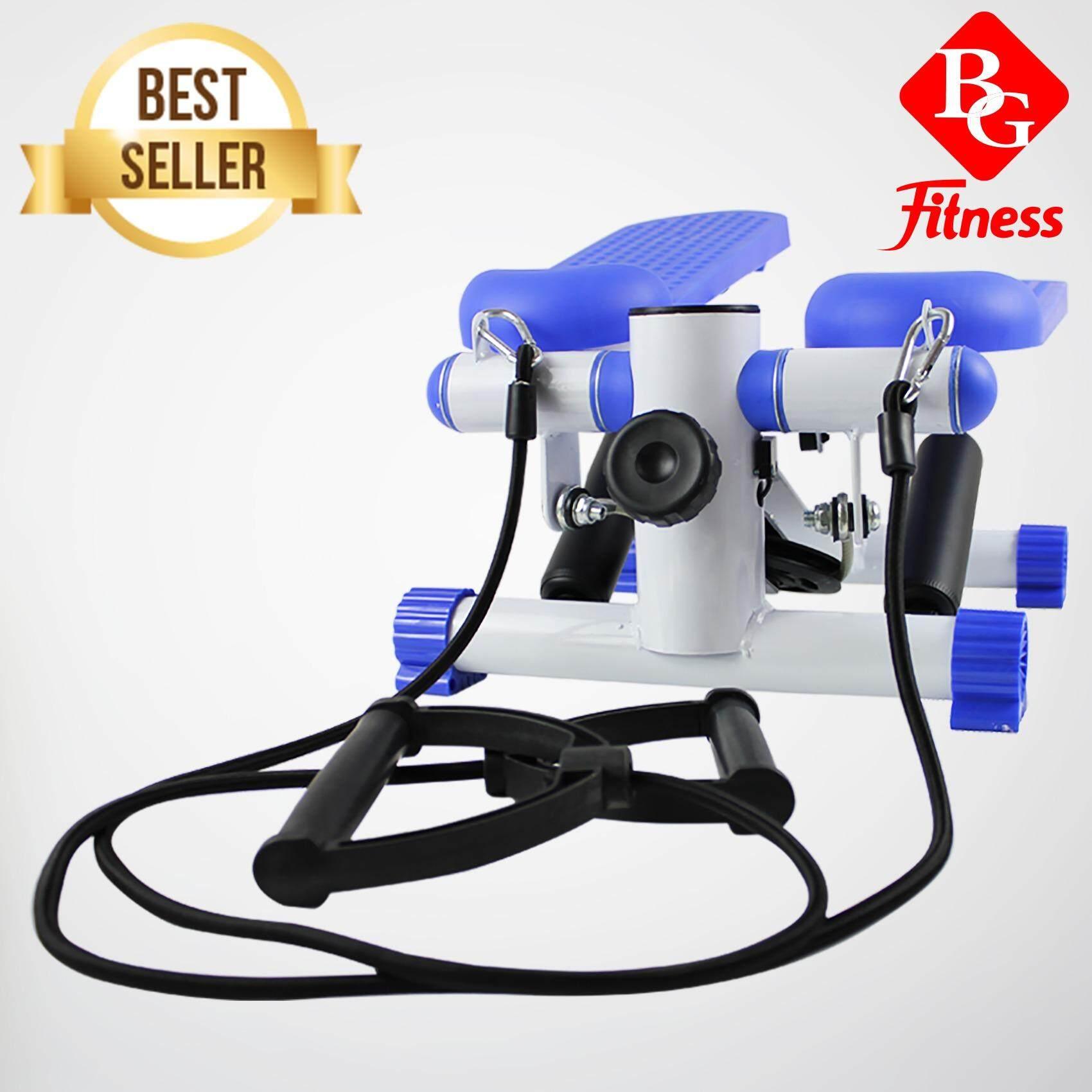 ราคา B G อุปกรณ์ออกกำลังกาย Mini Stepper Multifuntion สีฟ้า ใหม่