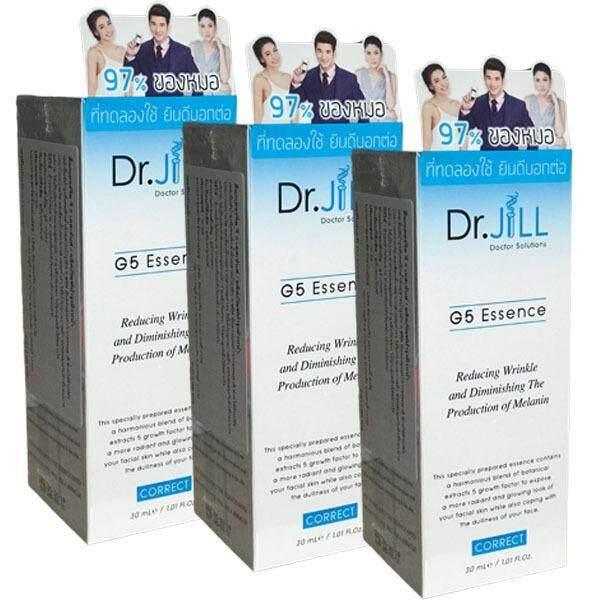 ราคา Dr Jill G5 Essenceเอสเซ้นส์น้ำนมเข้มข้นด๊อกเตอร์จิล30Ml 3ขวด เป็นต้นฉบับ