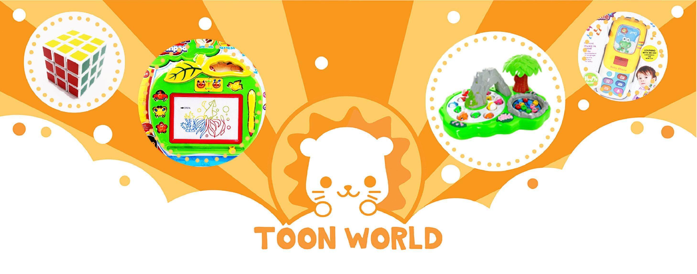 Toon World Fold High Jenga