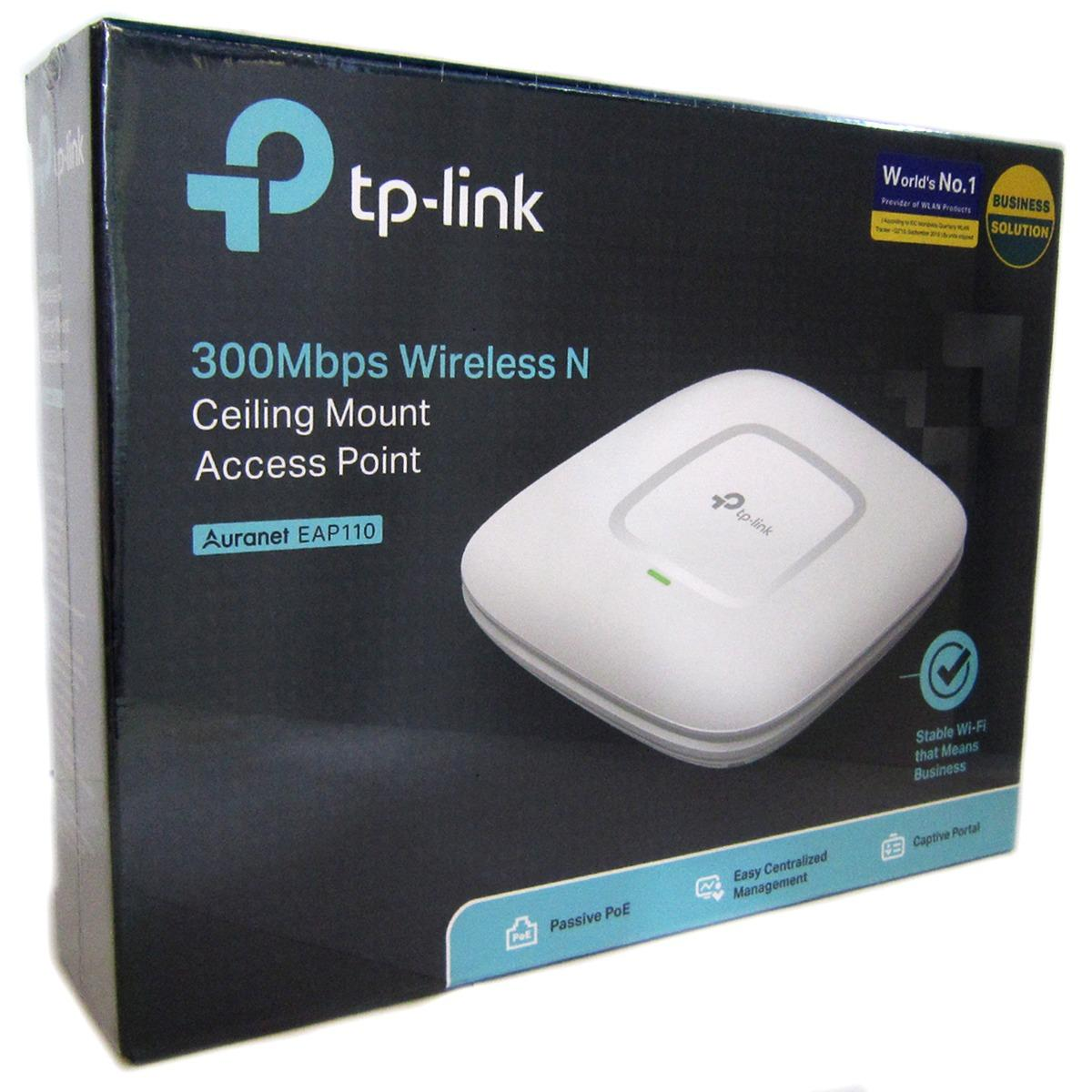 ซื้อ Tp Link Eap110 ส่งKerry 300Mbps Wireless N Ceiling Mount Access Point ออนไลน์ ถูก