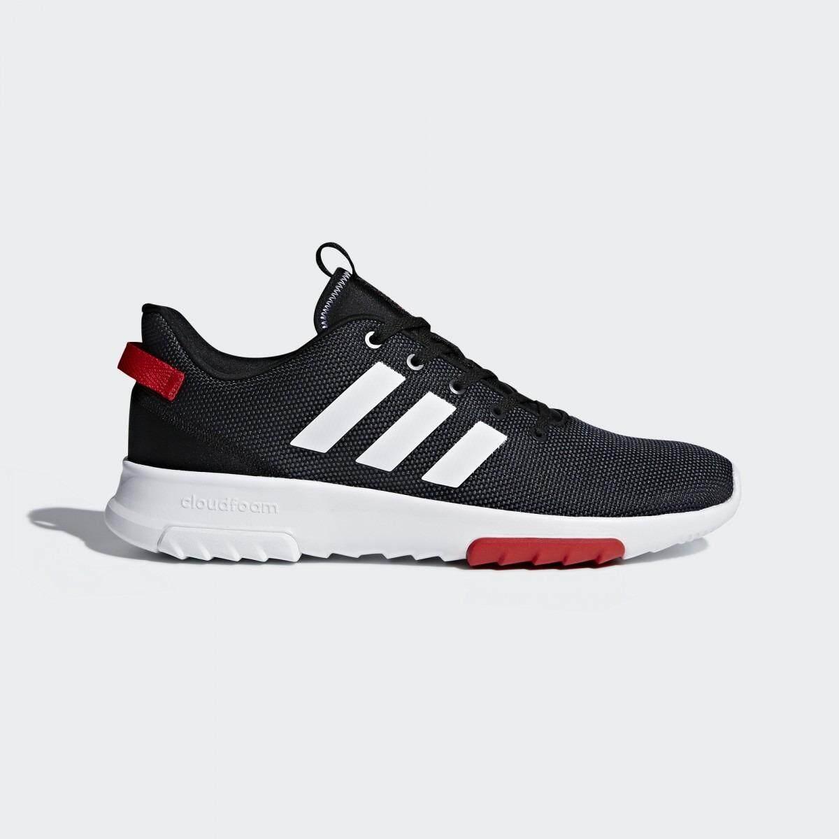 ซื้อ Adidas Neo รองเท้า Cloudfoam Racer Tr Db0704 Black White Red ใน กรุงเทพมหานคร