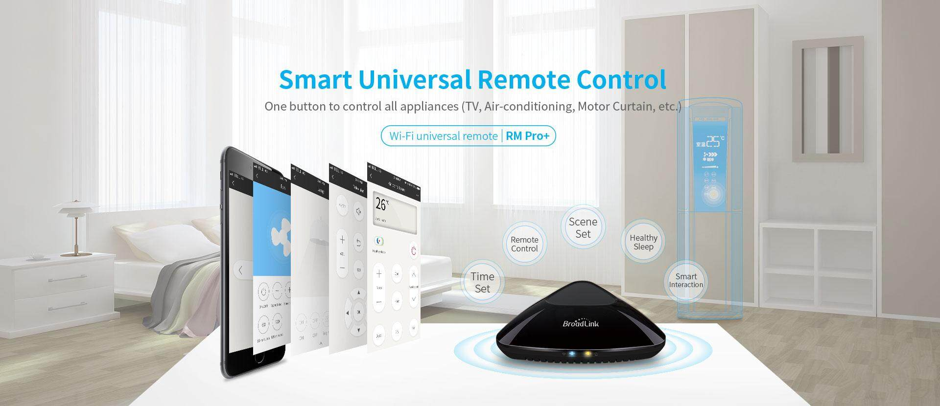Broadlink RM pro+ DMS Smart Universal Remote Control