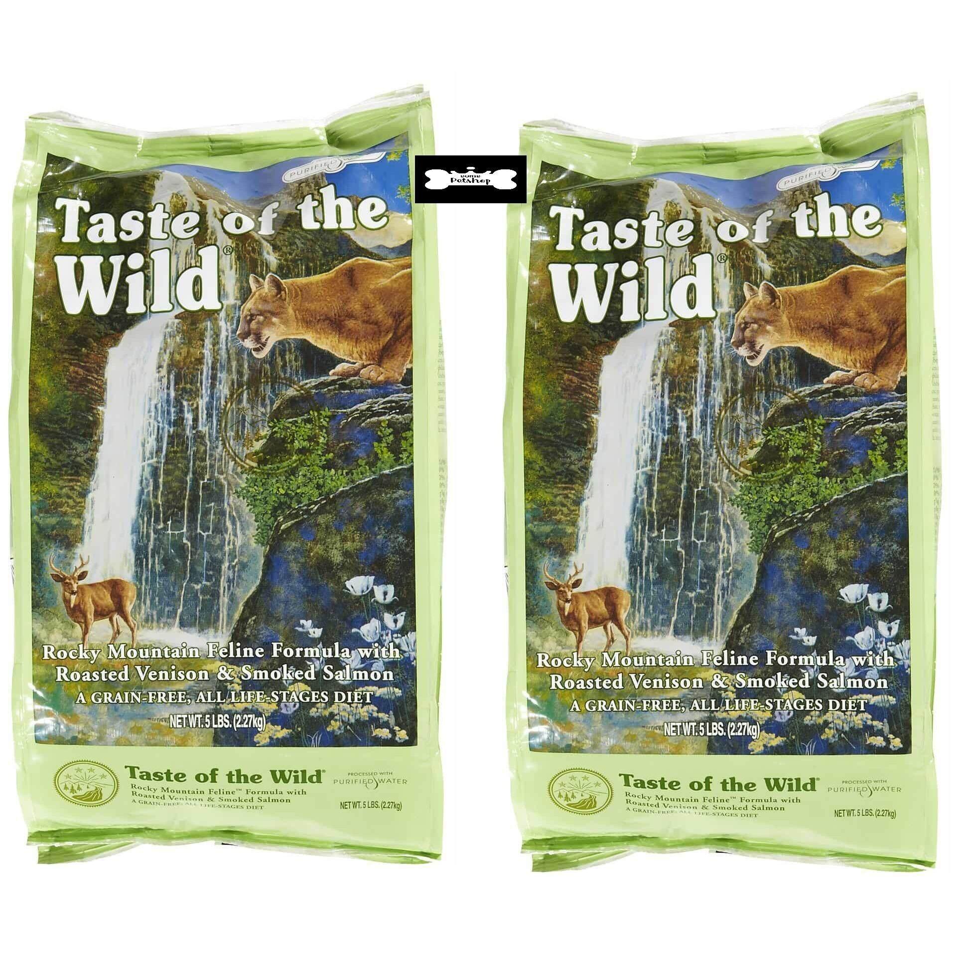 ซื้อ Taste Of The Wild Rocky Mountain อาหารแมวทุกช่วงวัยสำหรับแมว 1 5Lb หรือ 68Kg 1 ถุง แถม 1 ถุง Taste Of The Wild ออนไลน์