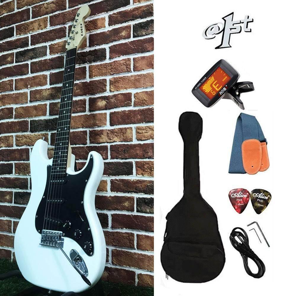 ราคา Eagle กีตาร์ไฟฟ้า Electric Guitar Stratocaster รุ่น E 30 และ อุปกรณ์กีตาร์ Eagle