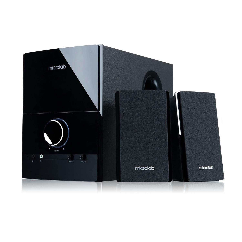 ราคา Microlab Speaker Microlab M500 2 1 Black เป็นต้นฉบับ