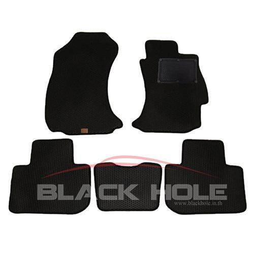 ซื้อ Blackhole Carmat พรมรถยนต์เข้ารูป 2 ชั้น Subaru Forester ปี 2013 2015 Black Rubber Pad รุ่น Jsbfoxbr สีดำ ใหม่