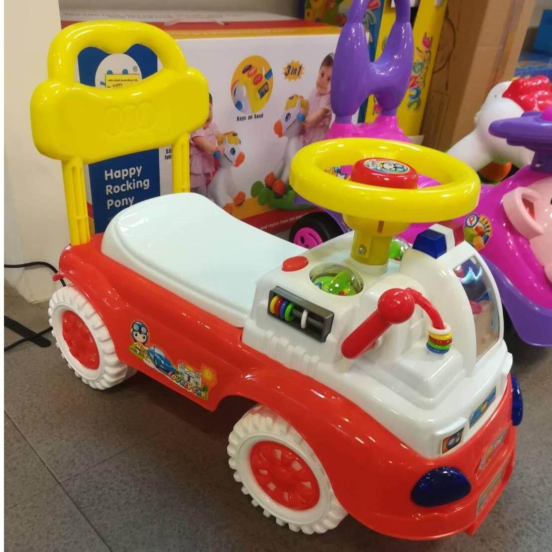 ราคา Natchavee รถขาไถ รถของเล่นเด็ก มีเสียงเพลง รุ่นDeluxe Baby ฝึกทักษะการเดินและทรงตัวเด็ก เป็นต้นฉบับ Natchavee