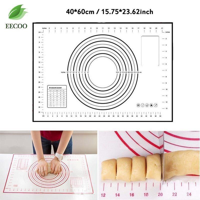 ซื้อ Silicone Rolling Dough Pad Baking Mats Measurements 40 60Cm Intl Unbranded Generic ออนไลน์