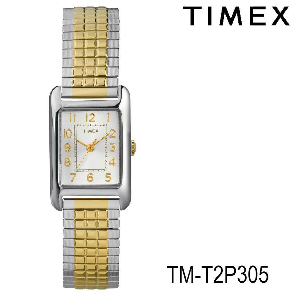 โปรโมชั่น Timex Tm T2P305 นาฬิกาข้อมือผู้หญิง สายสแตนเลส สีเงิน ทอง Timex ใหม่ล่าสุด