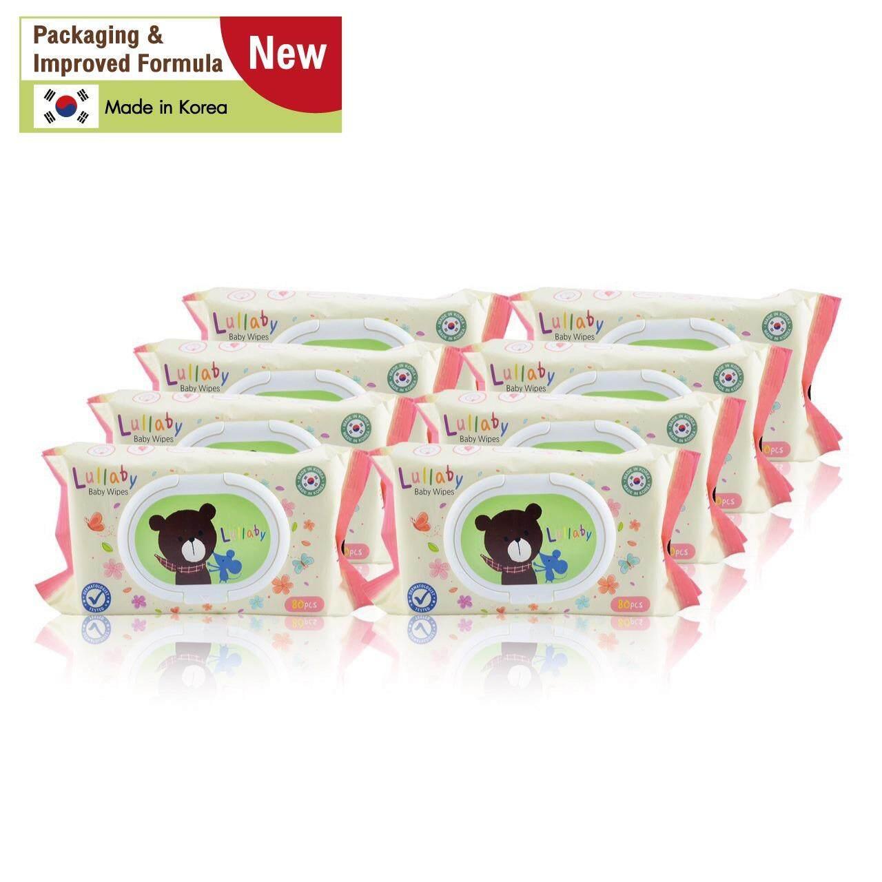 ขาย Lullaby Baby Wipes ทิชชู่เปียกลัลลาบาย แพคเกจจิ้ง ใหม่ จำนวน80แผ่น โปรโมชั่น ซื้อ 4 แพ็ค ฟรี 4แพ็ค ราคา 565 บาท ออนไลน์ ไทย