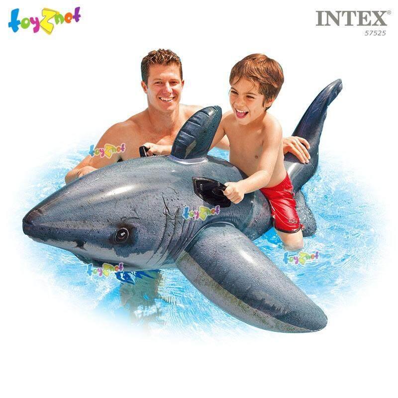 ราคา Intex แพยาง เป่าลม ปลาฉลามขาว ยักษ์ รุ่น 57525 ถูก