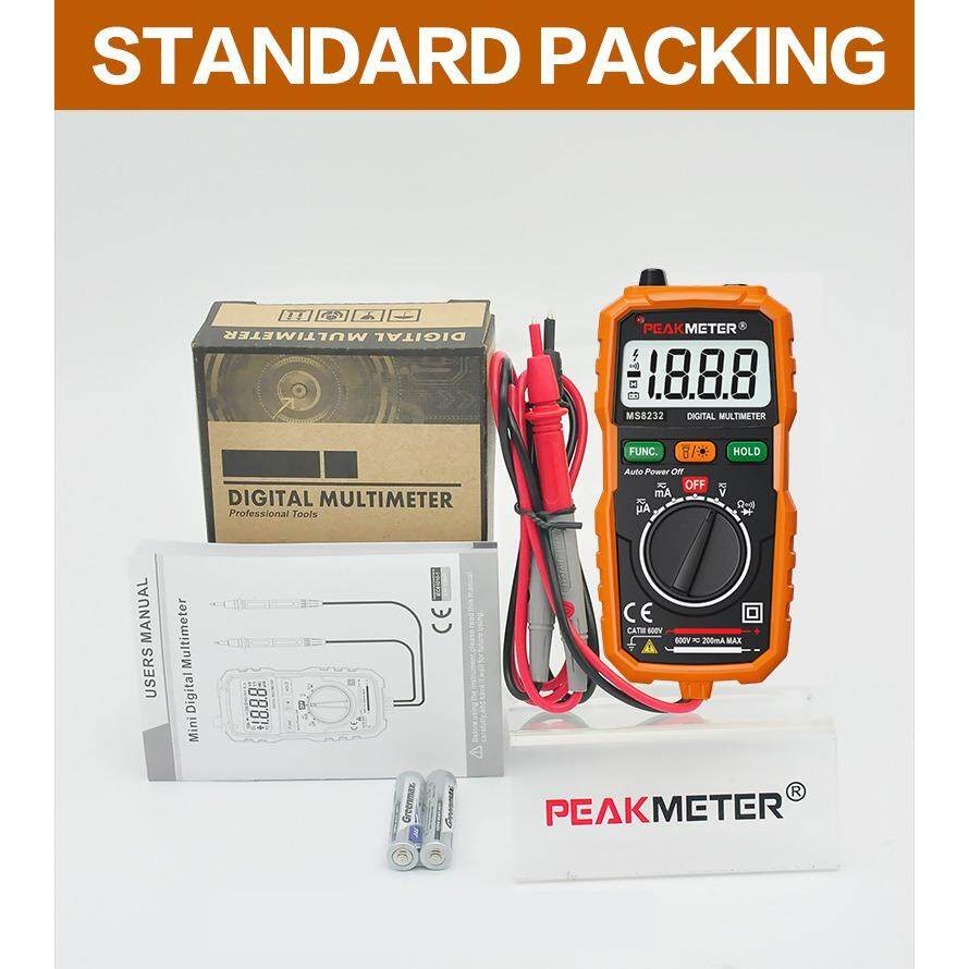 ขาย ดิจิตอลมัลติมิเตอร์ Peakmeter Ms8232 Peakmeter ถูก