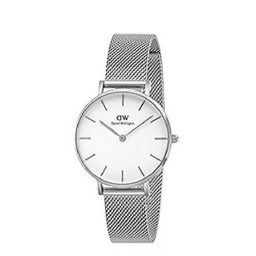 ซื้อ Daniel Wellington Dw00100164 Classic Petite Sterling 32Mm นาฬิกาข้อมือ นาฬิกาแฟชั่น ผู้หญิง เหล็กสาน สีเงิน Fashion White Dial Mesh Strap Women Watch Silver Case Mesh Strap ใน สมุทรปราการ