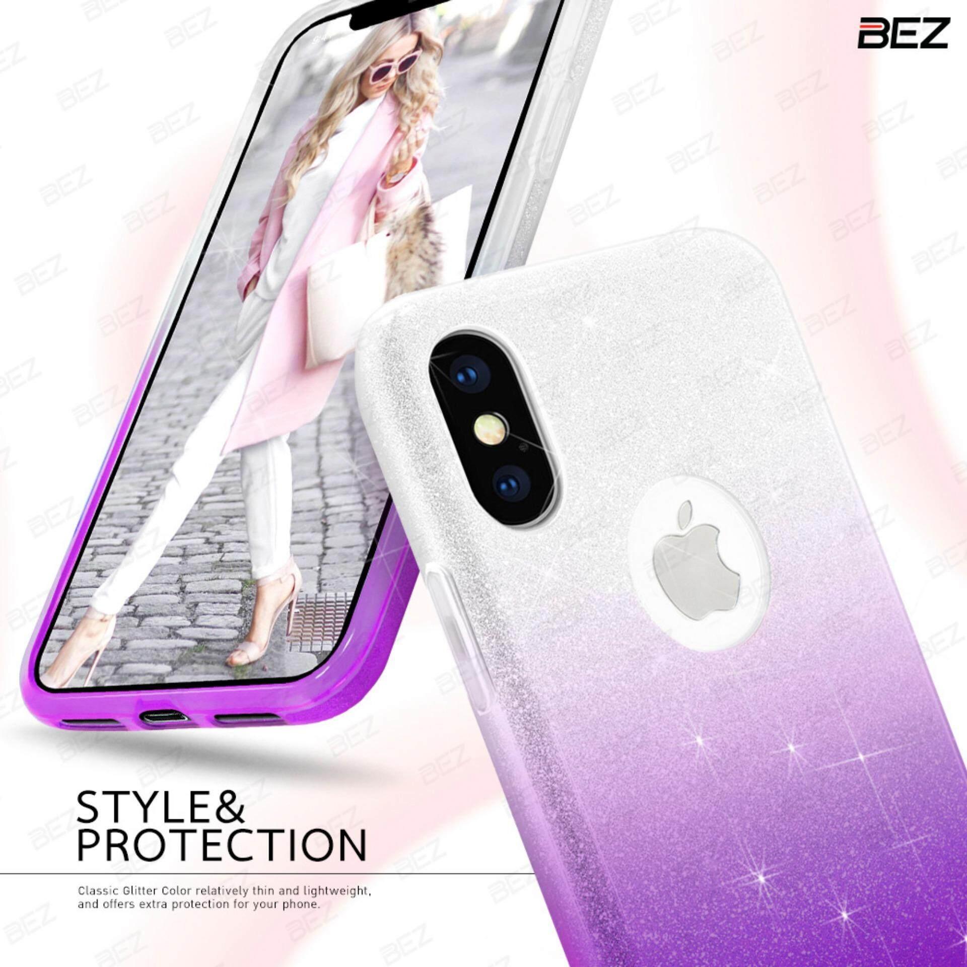 ราคา เคส Iphone X ฟรุ้งฟริ้ง กากเพชร เคสไอโฟน เคสมือถือ เคสฝาหลัง กันกระแทก Bez® Iphone X Glitter Bling Bling Phone Case Jg2 I8X ที่สุด