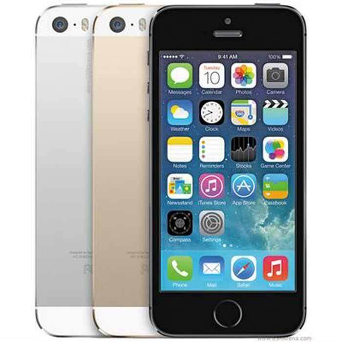Apple iPhone 5S 16gb BLACK Unlocked iPhone5s Mobile Phone Dual Core 4\ IPS Phone 8MP 1080P Smartphone GPS IOS