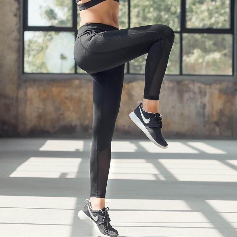 ซื้อ กางเกงวิ่ง กางเกงโยคะ หญิง ออกกำลังกายฟิตเนส กางเกงเอวสูง มีความยืดหยุ่น ระบายอากาศได้ดี แห้งเร็ว เหมาะสำหรับการออกกำลังกายทุกประเภท ออนไลน์