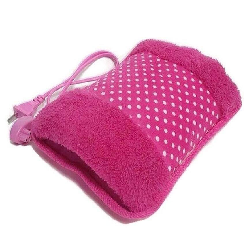 กระเป๋าน้ำร้อนไฟฟ้า Heating Bag ร้อนเร็ว สะดวกในการใช้งาน - สีชมพู