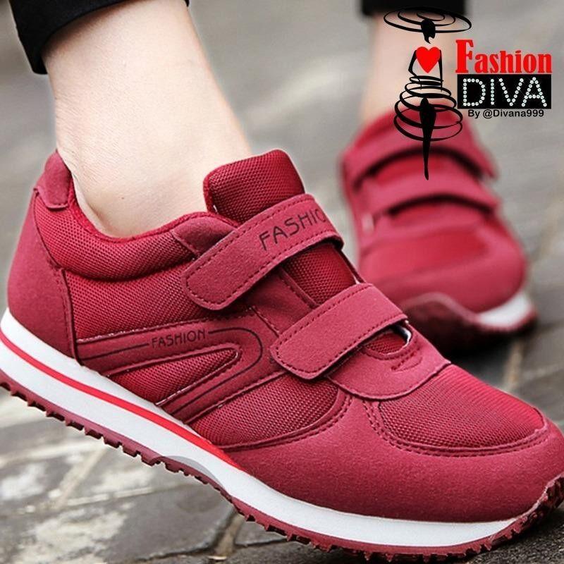 รองเท้าออกกำลังกาย ใส่เดิน วิ่ง สำหรับผู้สูงวัย มีแถบเมจิก ลอกแปะ ใส่ง่าย ใน กรุงเทพมหานคร