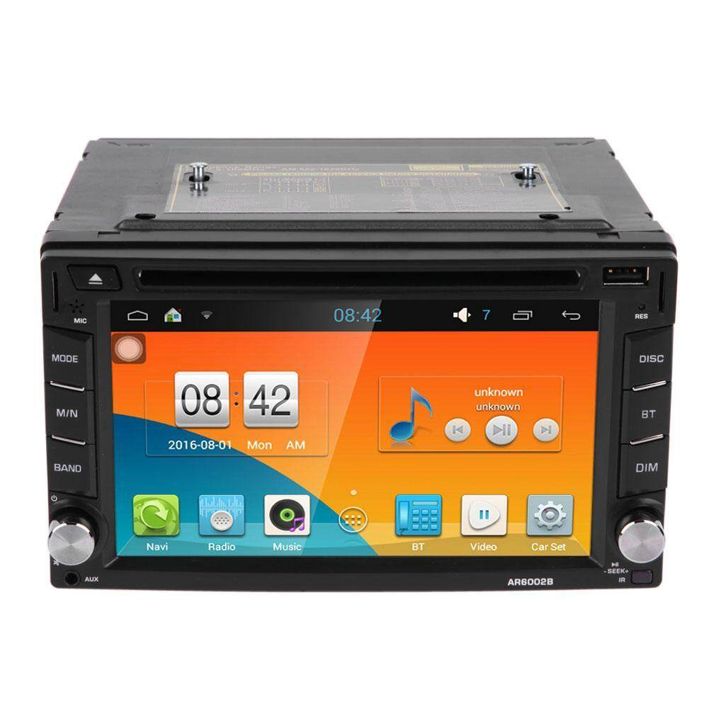 Quad Core 2 Din Android 5.1.1 1080P HD GPS Navigator Car DVD Player Autoradio In Dash - intl