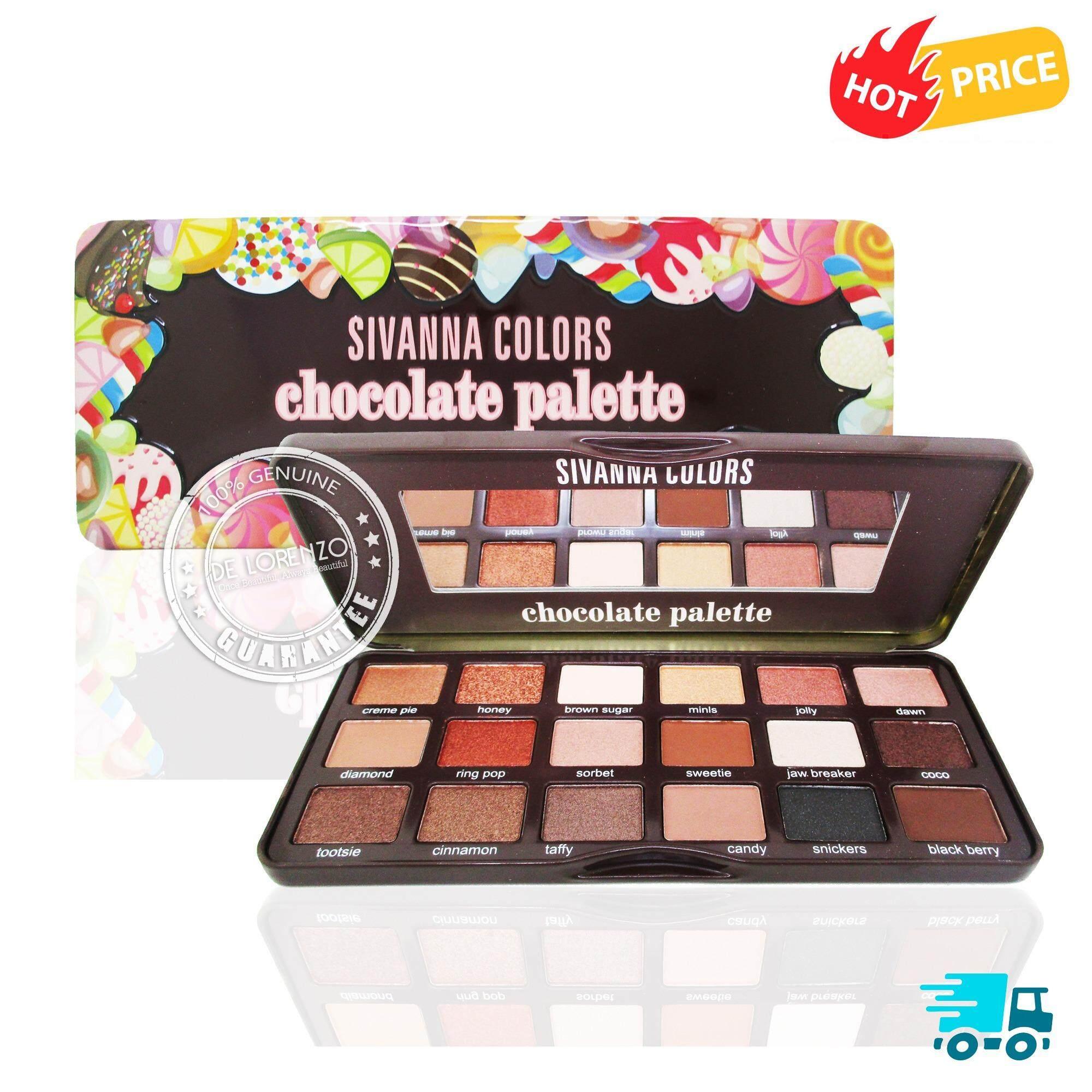 Sivanna Colors Eyeshadow Palette Hf7006 ซีเวียน่า อายแชโดว์พาเลท พาเลทแต่งตา 18สี เป็นต้นฉบับ