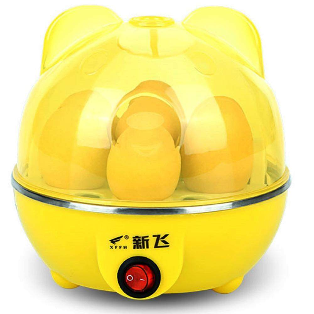 Multifunction Eggs Steamer หม้อต้มไข่ นึ่งอาหาร อุ่นอาหาร ระบบไอน้ำ 6 ฟอง 350W รุ่น Pa 601 ใน กรุงเทพมหานคร