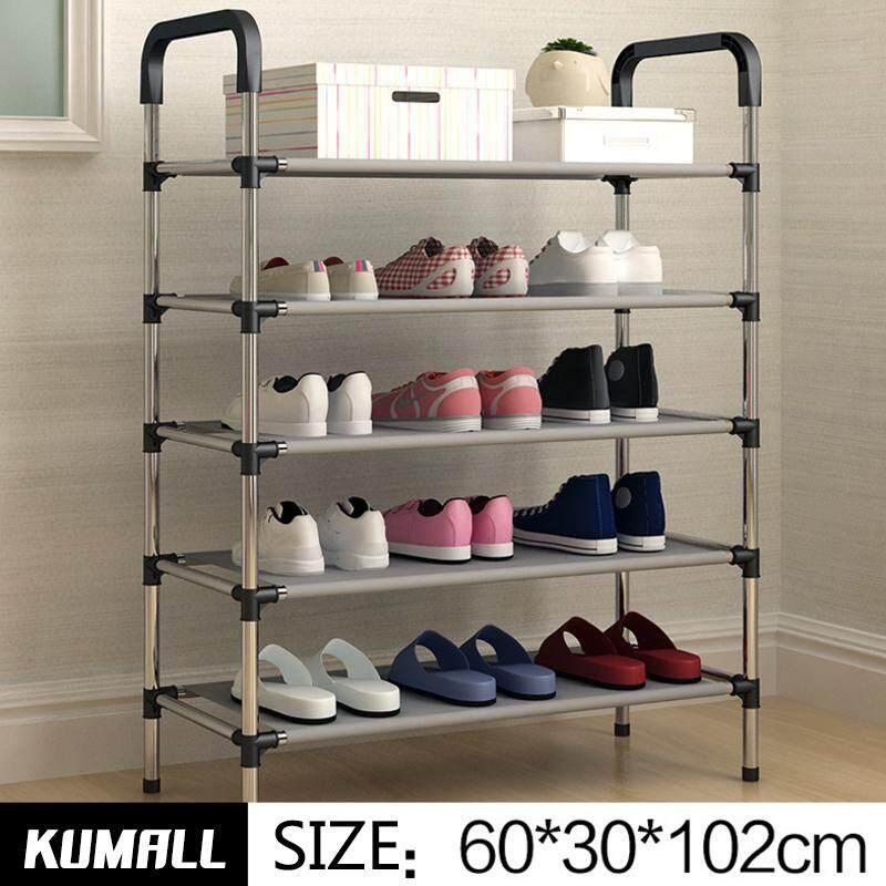 ราคา Kumall ชั้นวางรองเท้า ตู้เก็บรองเท้า ตู้ใส่รองเท้า 5 ชั้น Shoes Rack Kumall กรุงเทพมหานคร