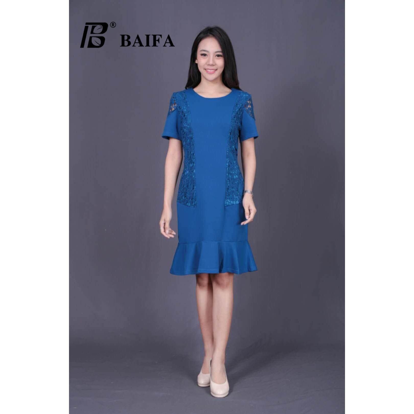 ราคา Baifa Shop รุ่น A3390 งานสวยเหมือนแบบ ใส่ได้หลายโอกาส ชุดไปงาน เดรสออกงานหรูหราลายสวยทั้งตัวค่ะ เสื้อผ้าแฟชั้น เดรสแฟชั่น เดรสกระโปรง เดรสผู้หญิง