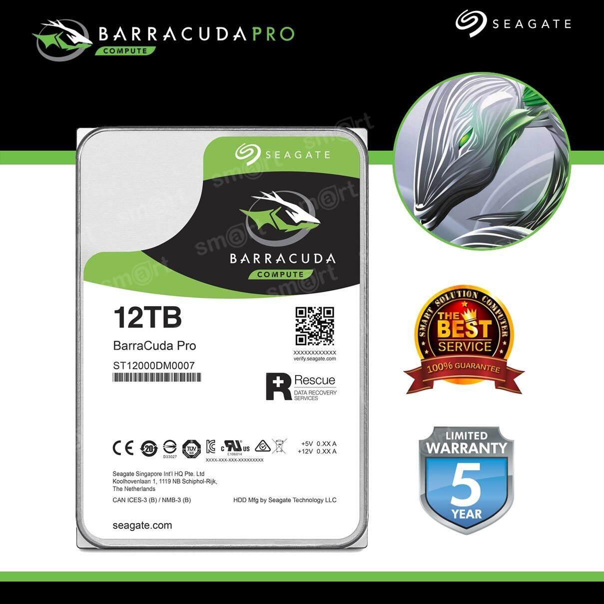 ซื้อ Seagate Barracuda Pro Hard Drive 12Tb 3 5 7200Rpm St12000Dm0007 ใหม่
