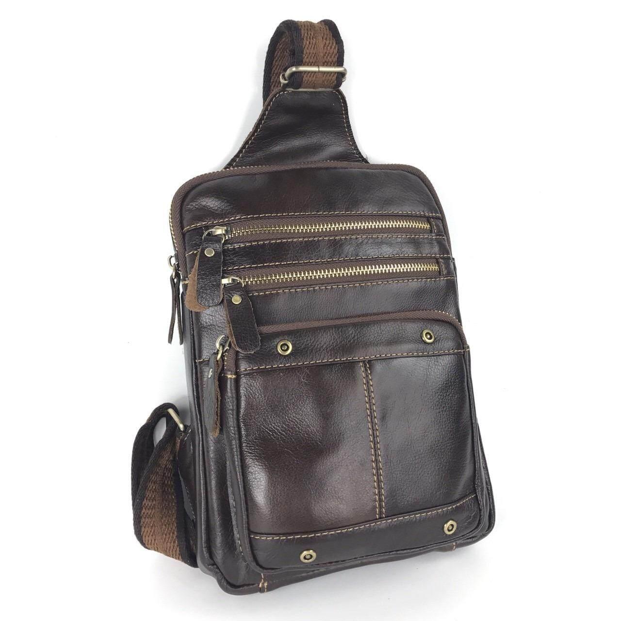 ซื้อ Chinatown Leather กระเป๋าหนังแท้ ขนาด Ipad 2 3 ทรงสี่เหลี่ยม สีน้ำตาล ถูก ใน กรุงเทพมหานคร