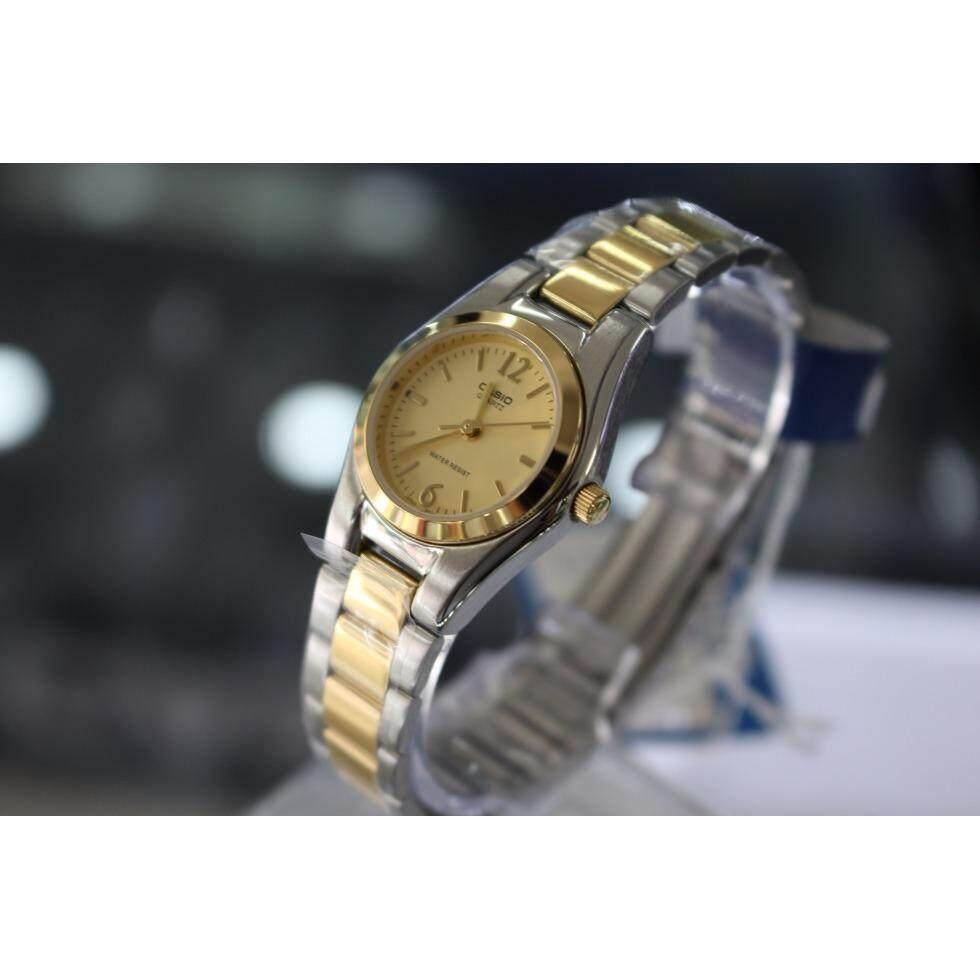 ขาย ซื้อ ออนไลน์ Casio นาฬิกาข้อมือ คุณผู้หญิง รุ่น Ltp 1253Sg 9A สินค้าขายดี มั่นใจ ของแท้ 100 ประกันศูนย์ 1 ปี
