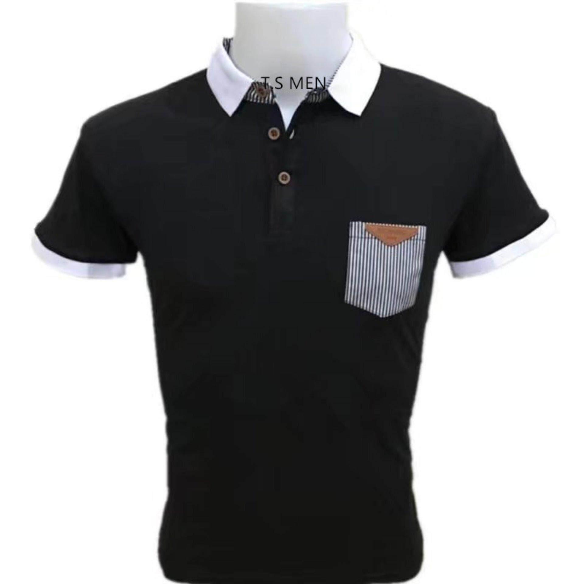 ขาย เสื้อยืดผู้ชายMen S T Shirtเสื้อยืดแฟชั่นผู้ชาย Polo Shirtเสื้อโปโล