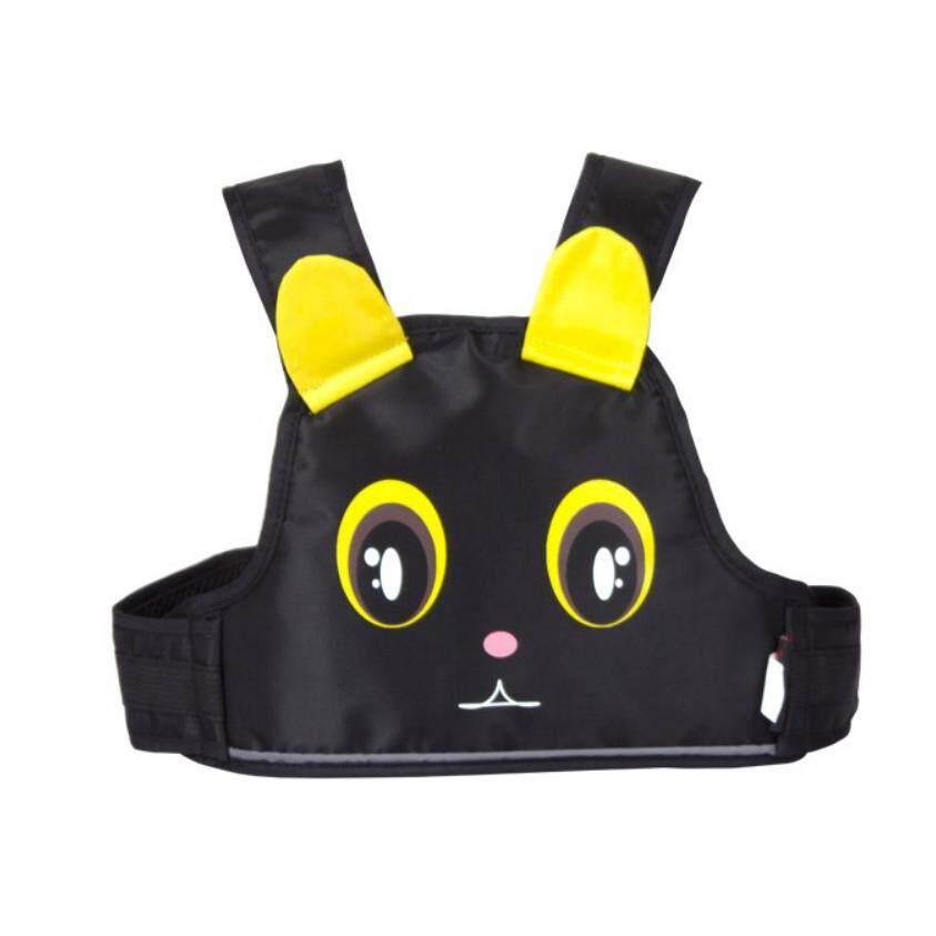 ราคา Exceed Safety Carrier For Kids Black สายรัดนิรภัยกันเด็กตกรถมอเตอร์ไซต์ สำหรับเด็กอายุ 3 10 ปี แบบกระเป๋าเป้สะพายหลัง สำหรับขับขี่มอเตอร์ไซต์ ลายแมวสีดำ ถูก
