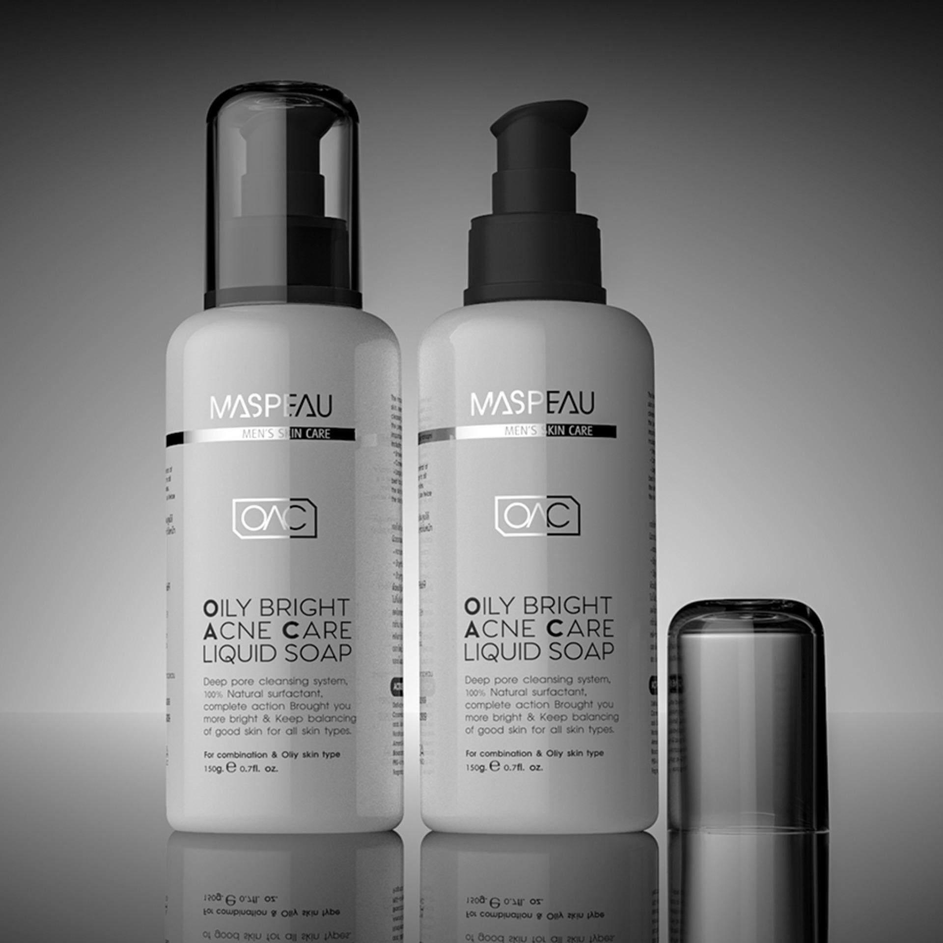 ขาย Maspeau Oily Bright Acne Care Liquid Soap เซ็ทคู่ เป็นต้นฉบับ