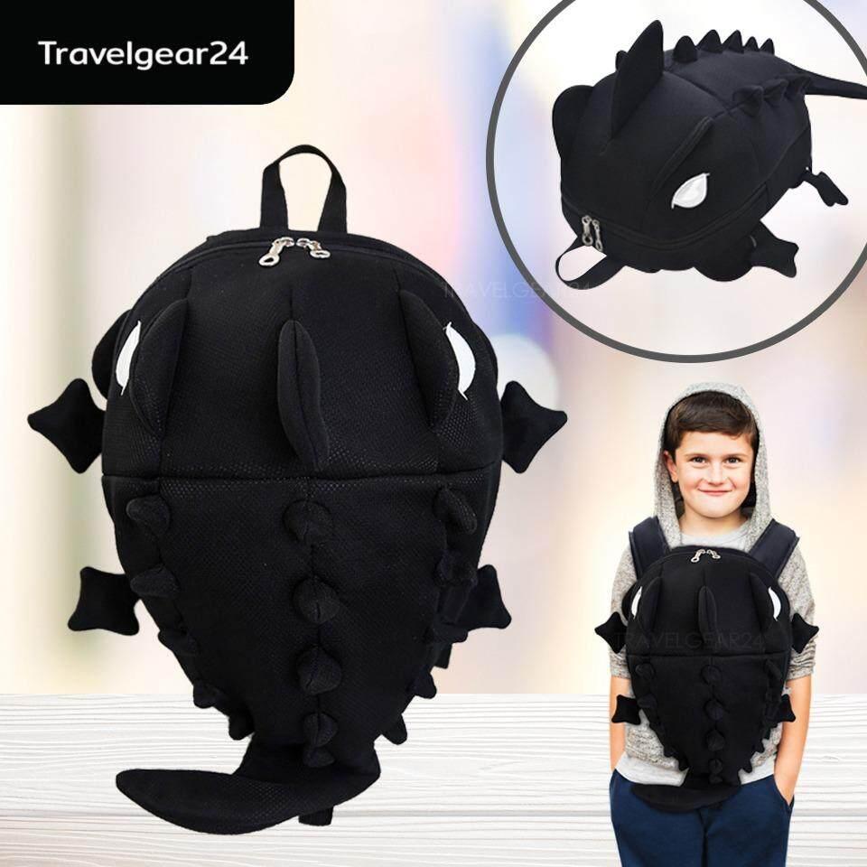 ขาย Travelgear24 กระเป๋าเป้สะพายหลัง กระเป๋าเป้เด็ก กระเป๋าเป้รูปไดโนเสาร์มอนสเตอร์ Dinosaur Monster Backpack ฺblack สีดำ Travelgear24 ใน กรุงเทพมหานคร