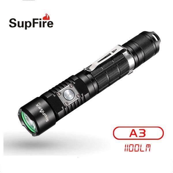ขาย ไฟฉายแรงสูง Supfire A3 หลอด Xml2 U2 ความสว่าง 1100 Lumens Supfire ผู้ค้าส่ง