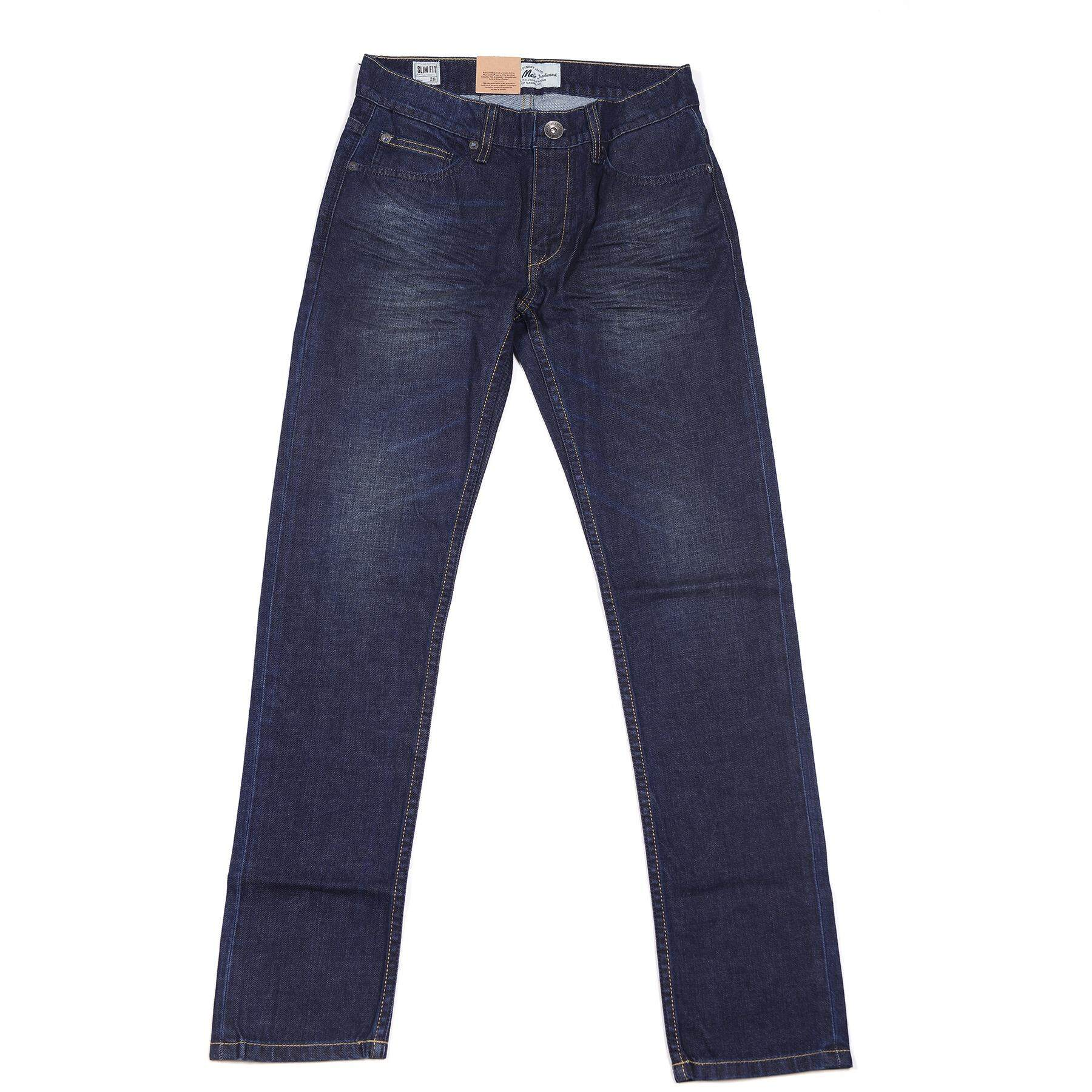 ราคา Mcjeans Slim Fit Jeans Mad617100 Blue ใหม่