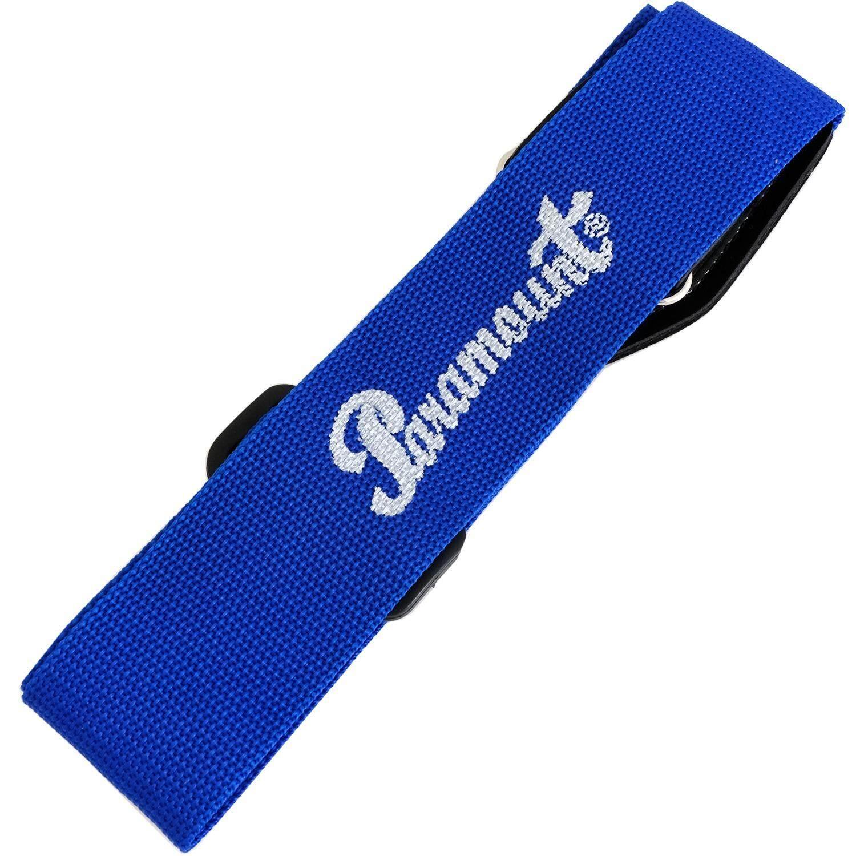 Paramount สายสะพายกีตาร์ สำหรับโปร่ง ไฟฟ้า รุ่น Jg5Bl สีน้ำเงิน สายสะพายกีตาร์โปร่ง สายสะพายกีตาร์ไฟฟ้า ใน ไทย