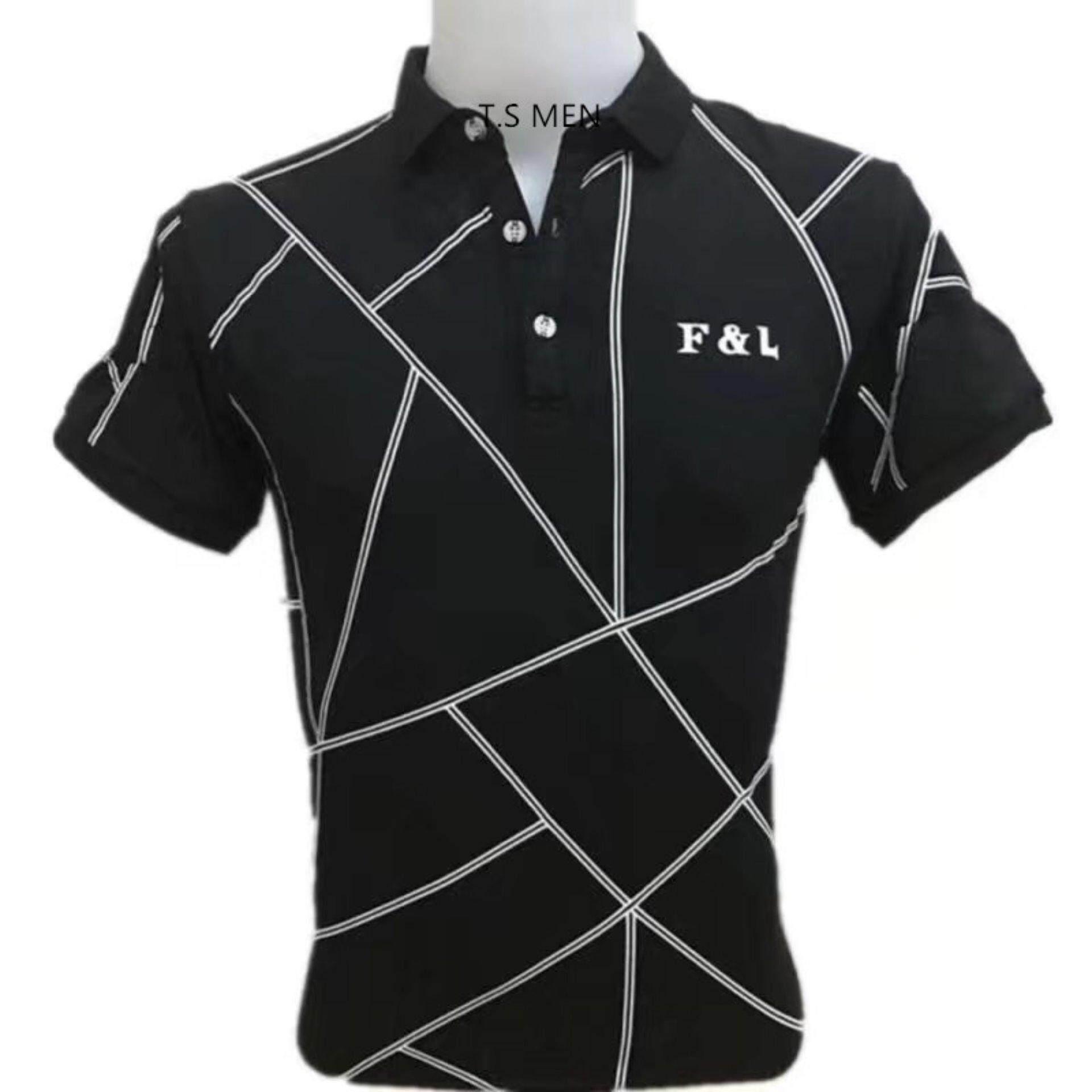 ทบทวน เสื้อยืดผู้ชายMen S T Shirtเสื้อยืดแฟชั่นผู้ชาย Polo Shirtเสื้อโปโล Oemgenuine