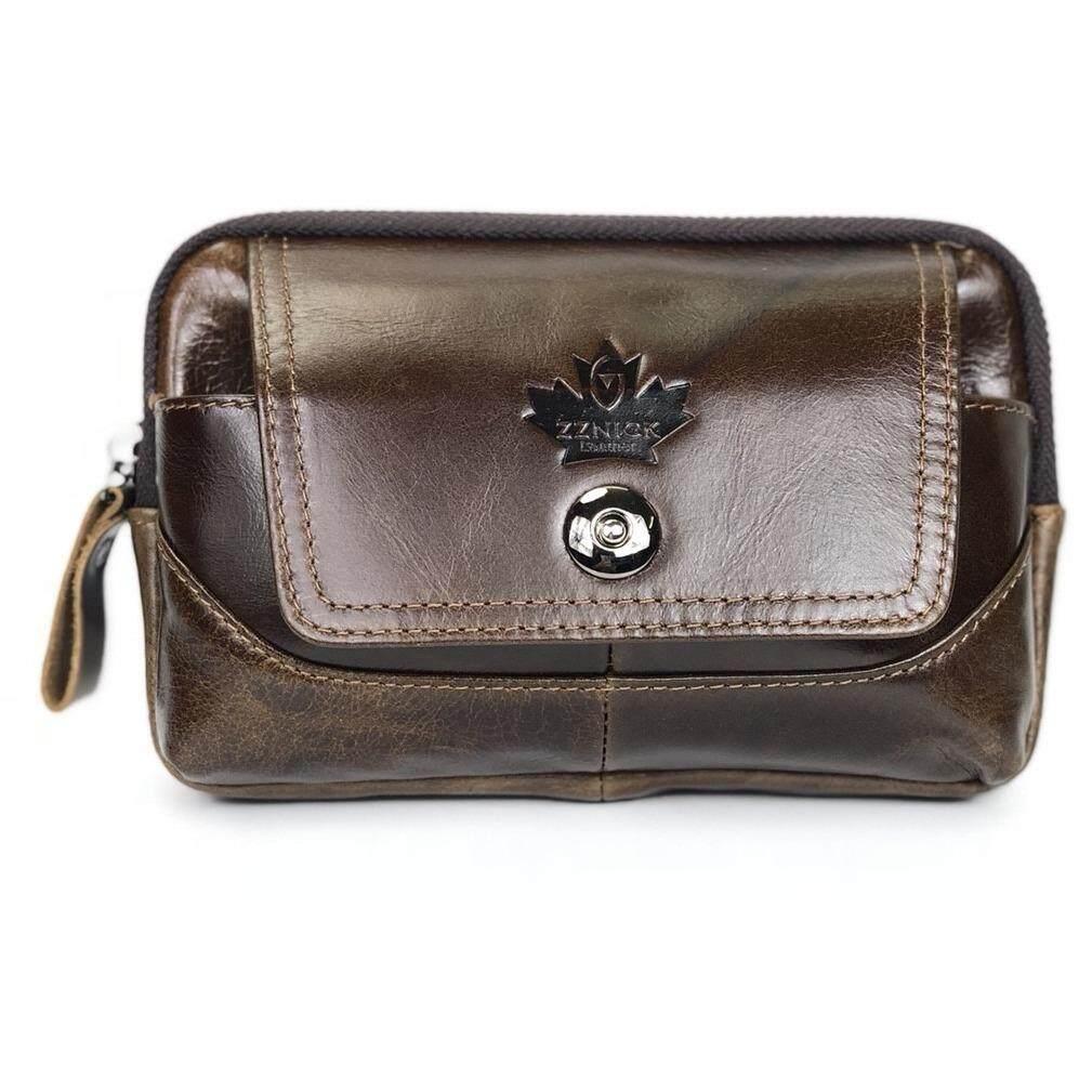 ซื้อ Chinatown Leather กระเป๋าหนังแท้ใส่มือถือแนวนอน สำหรับ Iphone6 น้ำตาลแทน Chinatown Leather