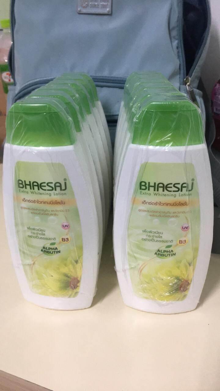 ราคา โลชั่นเภสัชเขียว เซ็ต6ขวด Bhaesaj ออนไลน์