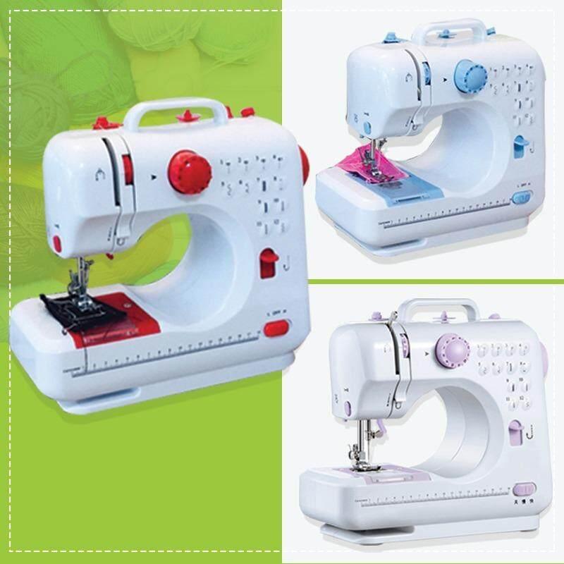 จักรเย็บผ้าไฟฟ้าไร้สาย12 ตะเข็บ แดง ม่วง ฟ้า Electric sewing machine blue red purple