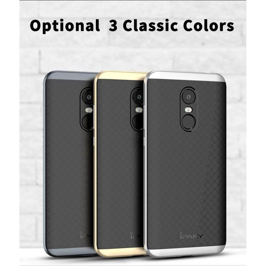 ส่วนลด เคส พรีเมี่ยม แบบมีกรอบล้อมรอบ Luxury Ipaky Tpu Pc Frame Back Cover Case สำหรับ Xiaomi Redmi 5 Plus