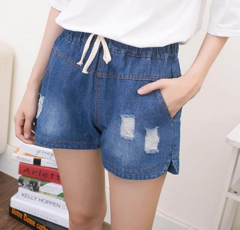 ส่วนลด กางเกงยีนส์ขาสั้น Zashion Denim Shorts Pants Collection