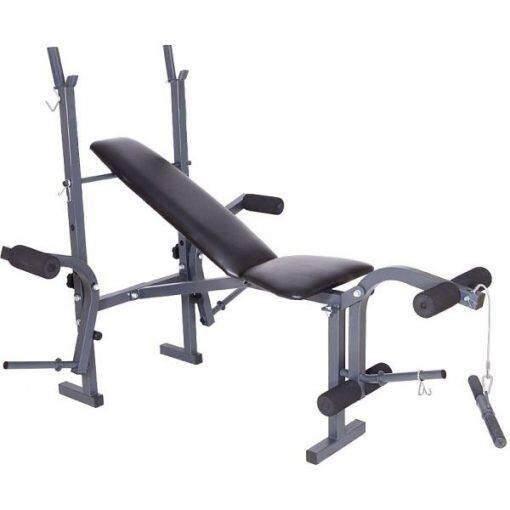 ราคา Avarin เก้าอี้บาร์เบล เก้าอี้ปรับระดับ รุ่น Power Buster สีดำ ใหม่ ถูก