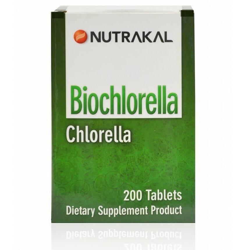 ราคา ราคาถูกที่สุด อาหารเสริมโปรตีนสูง ช่วยดีท็อก ล้างสารพิษ และ เสริมพัฒนาการเด็ก Nutrakal Bio Chlorella 200 เม็ด