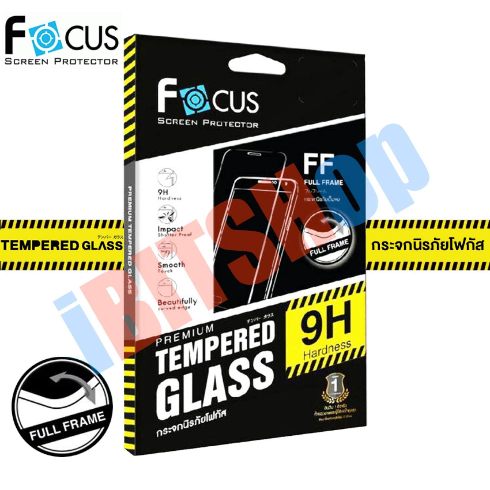 ทบทวน Focus กระจกนิรภัย แบบเต็มจอ Full Frame Huawei Gr5 2017 สีขาว