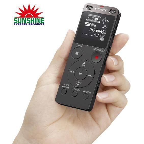 ขาย ซื้อ Sony เครื่องบันทึกเสียง รุ่น Icd Ux560F Bc Black Ic Audio Recorder Thailand